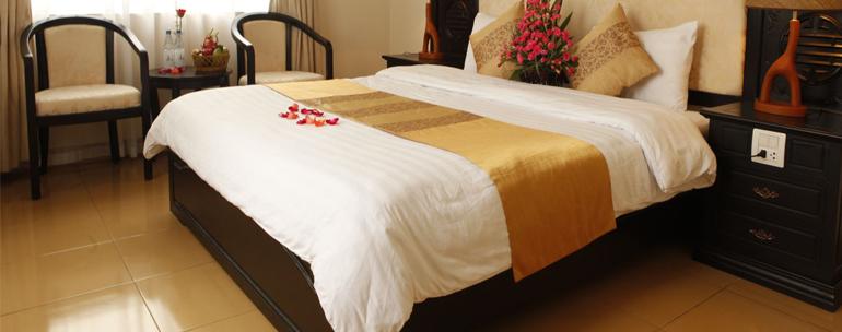 Tìm hiểu về vải trắng khách sạn T250