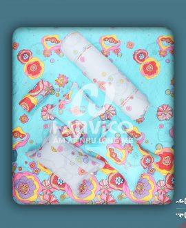 Bộ chăn ga gối Hanvico Blue Sky DL118