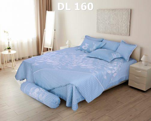 Bộ chăn ga gối Dl160 100% cotton T Hanvico