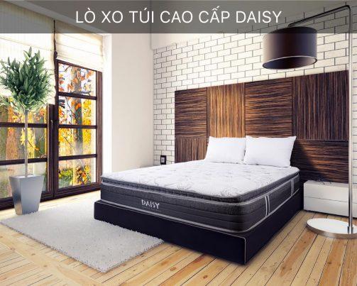 Đệm Lò Xo Túi Daisy Hanvico cao 30cm